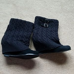 Steve Madden Aspire wedge sweater boots